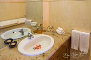 Bathroom of a luxury hotel