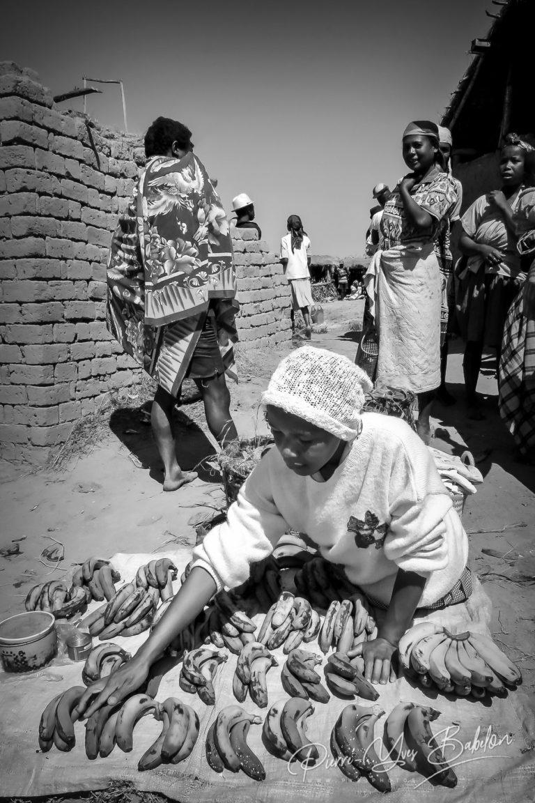 Marché près de Fianarantsoa