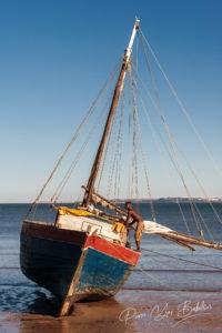 Goélette au port d'Analalava, adagascar