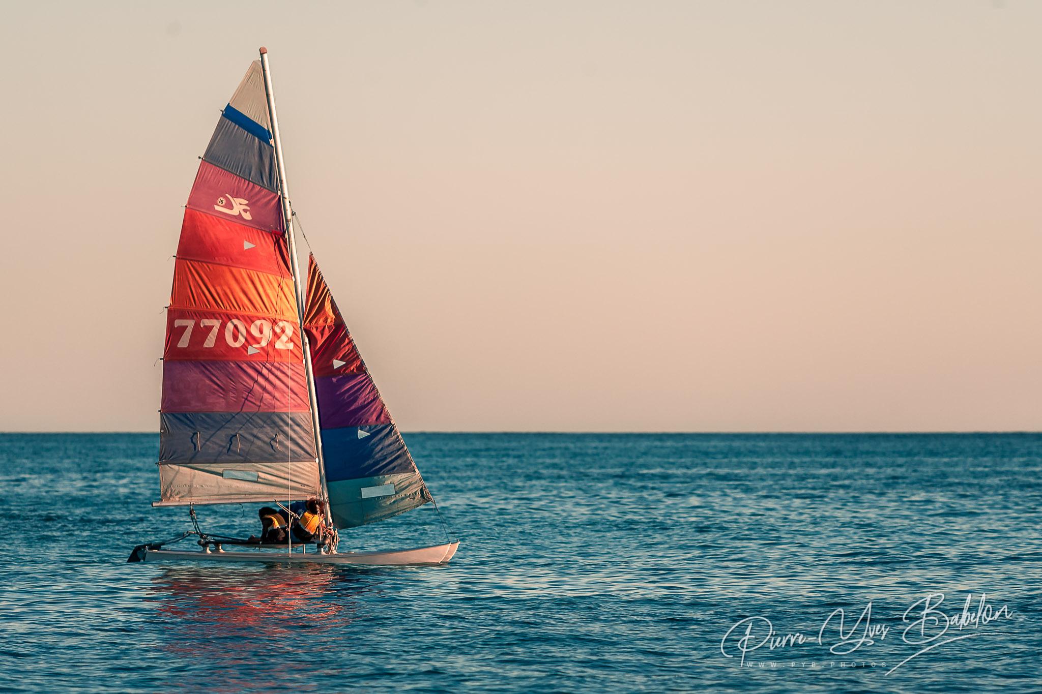 Hobie cat catamaran