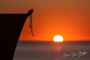 Coucher de soleil sur le lagon de Tsiandamba