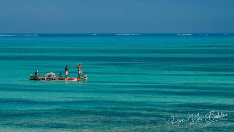Fishing scene of Malagasy fishermen
