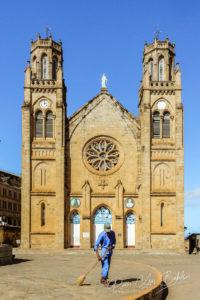 La Cathédrale d'Andohalo, hautes terres d'Antananarivo, Madagascar