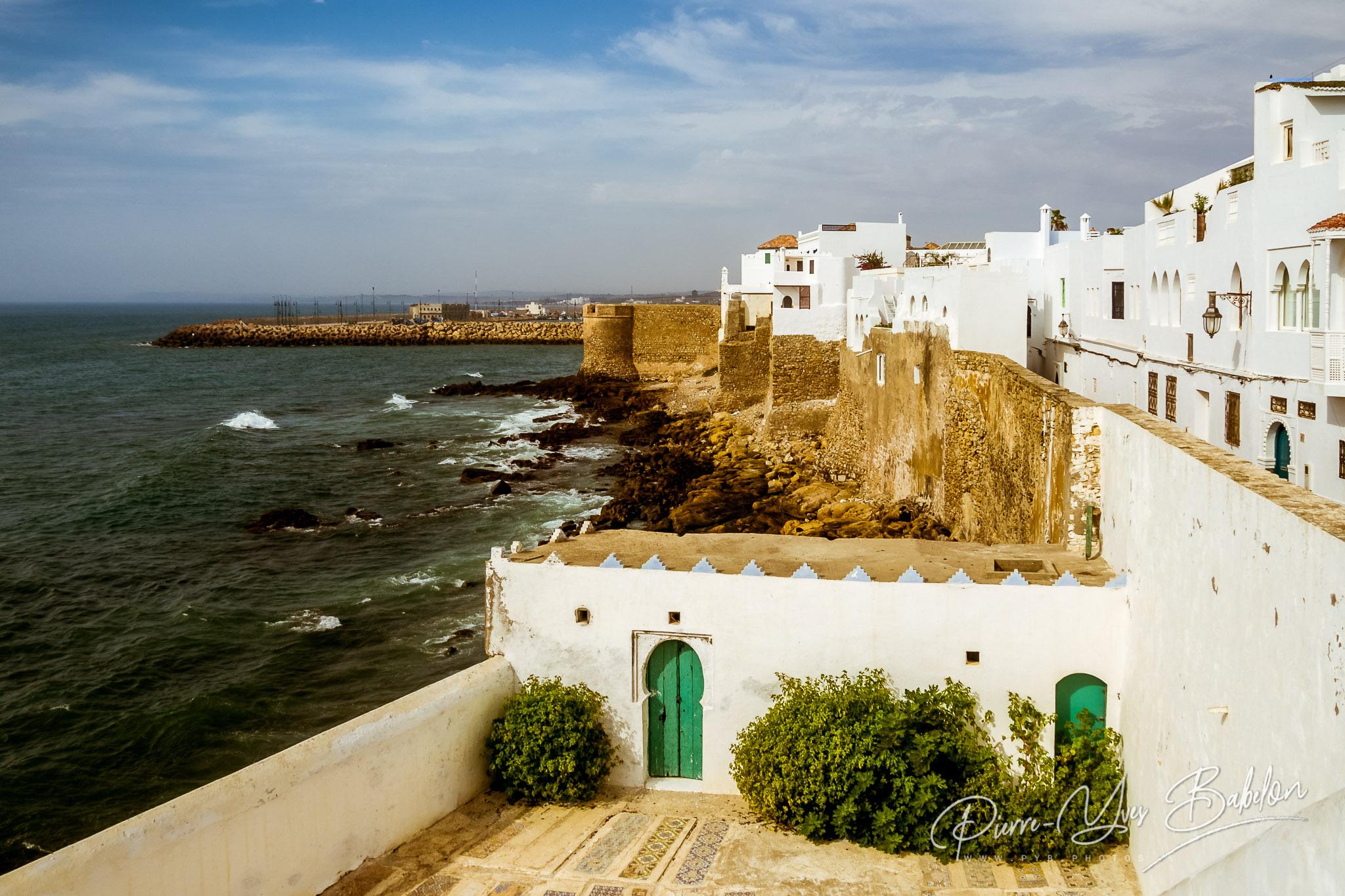 Ocean front of Asilah, Morocco