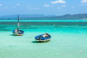 Barques, baie de Diego Suarez, Madagascar