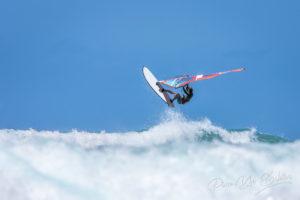 Windsurf, baie de Diego Suarez, Madagascar.