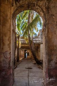 Vestige of colonial architecture in Diego Suarez (Antsiranana), north of Madagascar