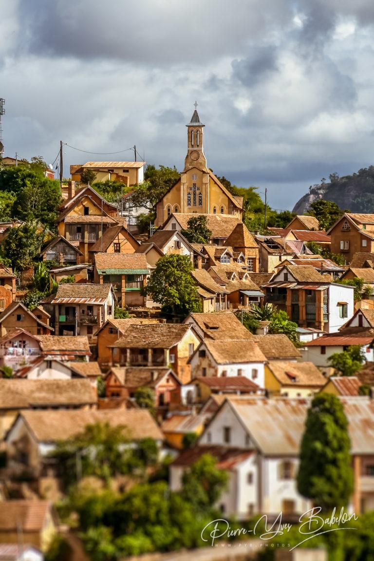 The upper town of Fianarantsoa