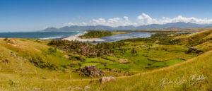 Village d'Evatraha près de Fort Dauphin, Madagascar