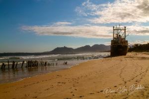 Cargo échoué à Fort Dauphin, Madagascar