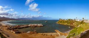 Le vieux port de Fort Dauphin, Madagascar