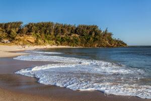 La plage de Libanona à Fort Dauphin, Madagascar