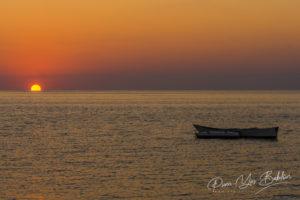 Coucher de soleil sur la plage Ifaty, Madagascar