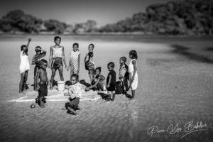 Enfanrs malgaches de l'île de Nosy Be, Madagascar