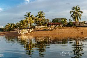 Village de pêcheurs typique de Nosy Be, au nord de Madagascar