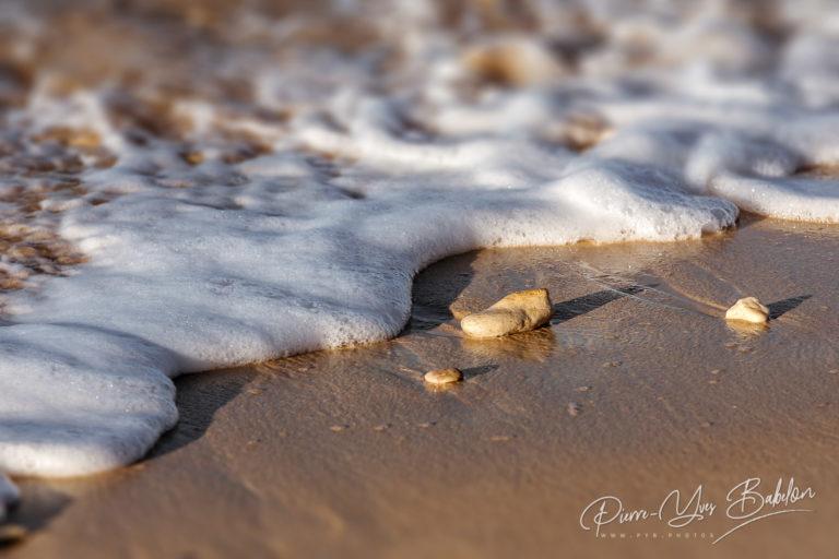Soft wave of ocean