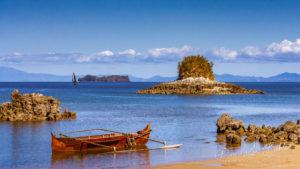 Paysage marin à Nosy Be, Madagascar