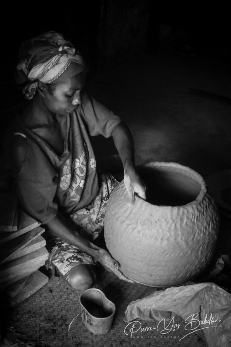 Poterie artisanale près de Fianarantsoa