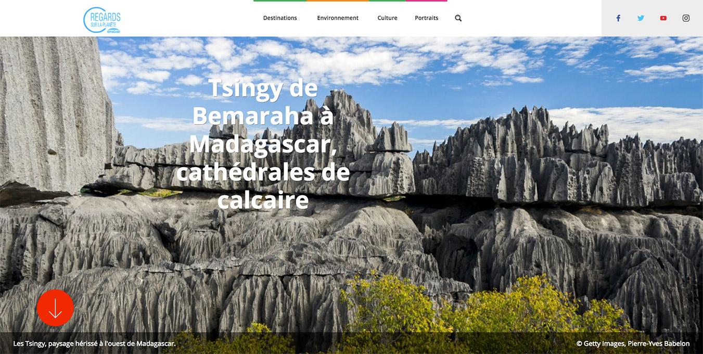 Ragards sur la Planète article Tsingy de Bemaraha Madagascar