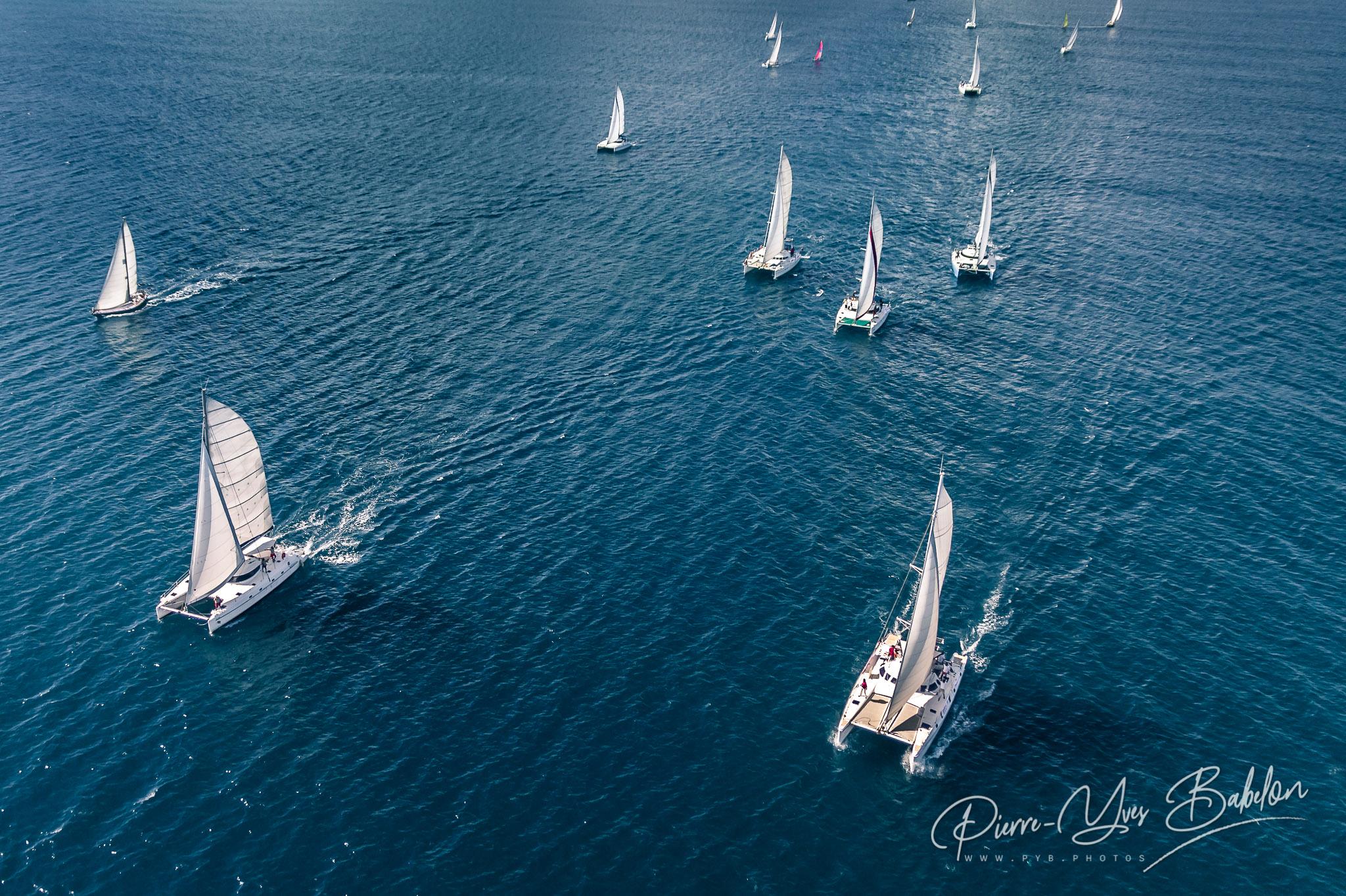 Regatta in the Indian Ocean