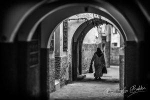 Les ruelles de la medina de Tanger, Maroc