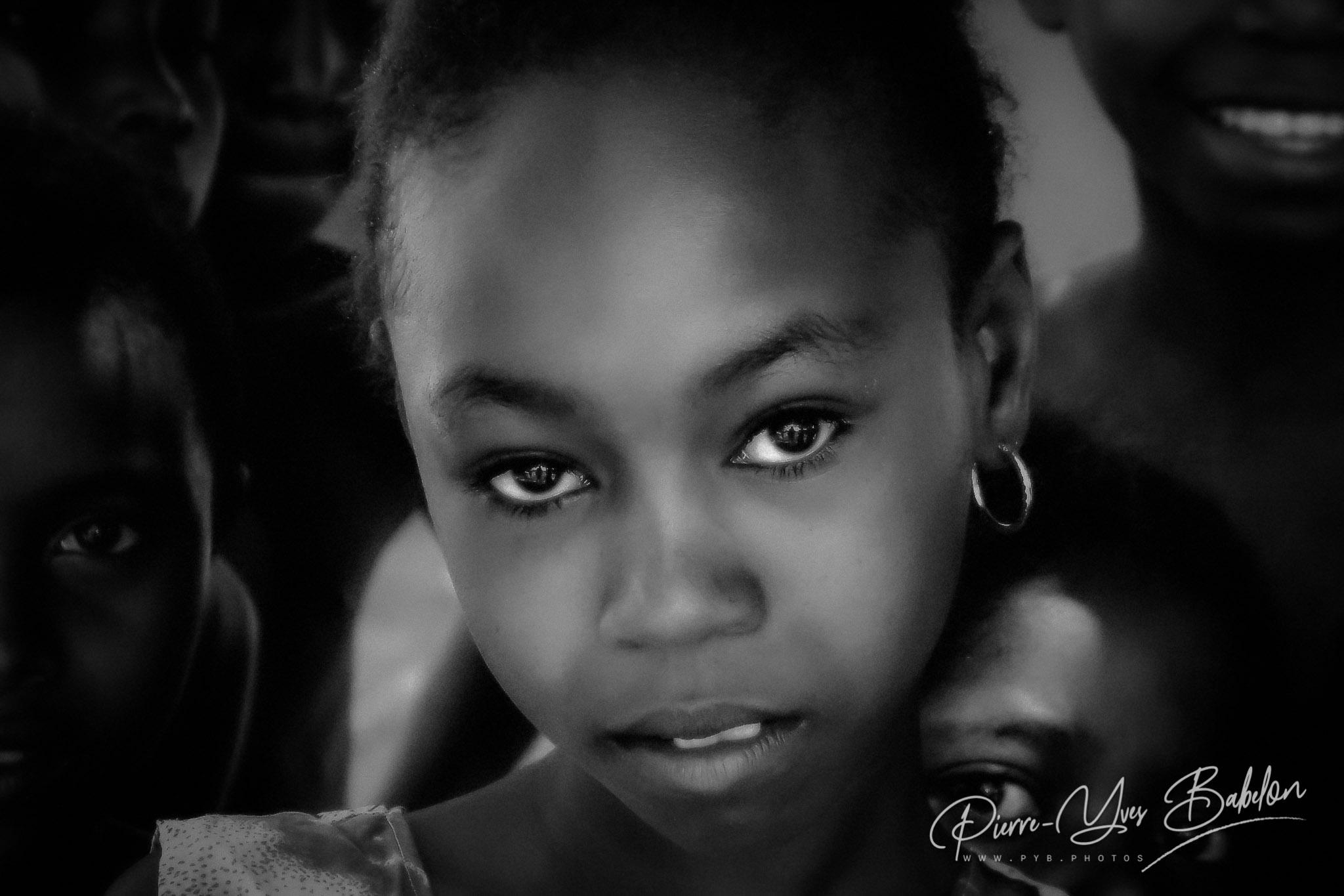 Portrait de jeunes malgaches Sakalava de Madagascar