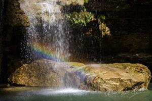 La cascade de Nosy Ampela du fleuve Tsiribihina, Madagascar