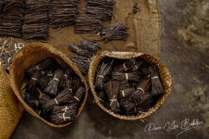 Vanille de Madagascar dans un atelier de préparation