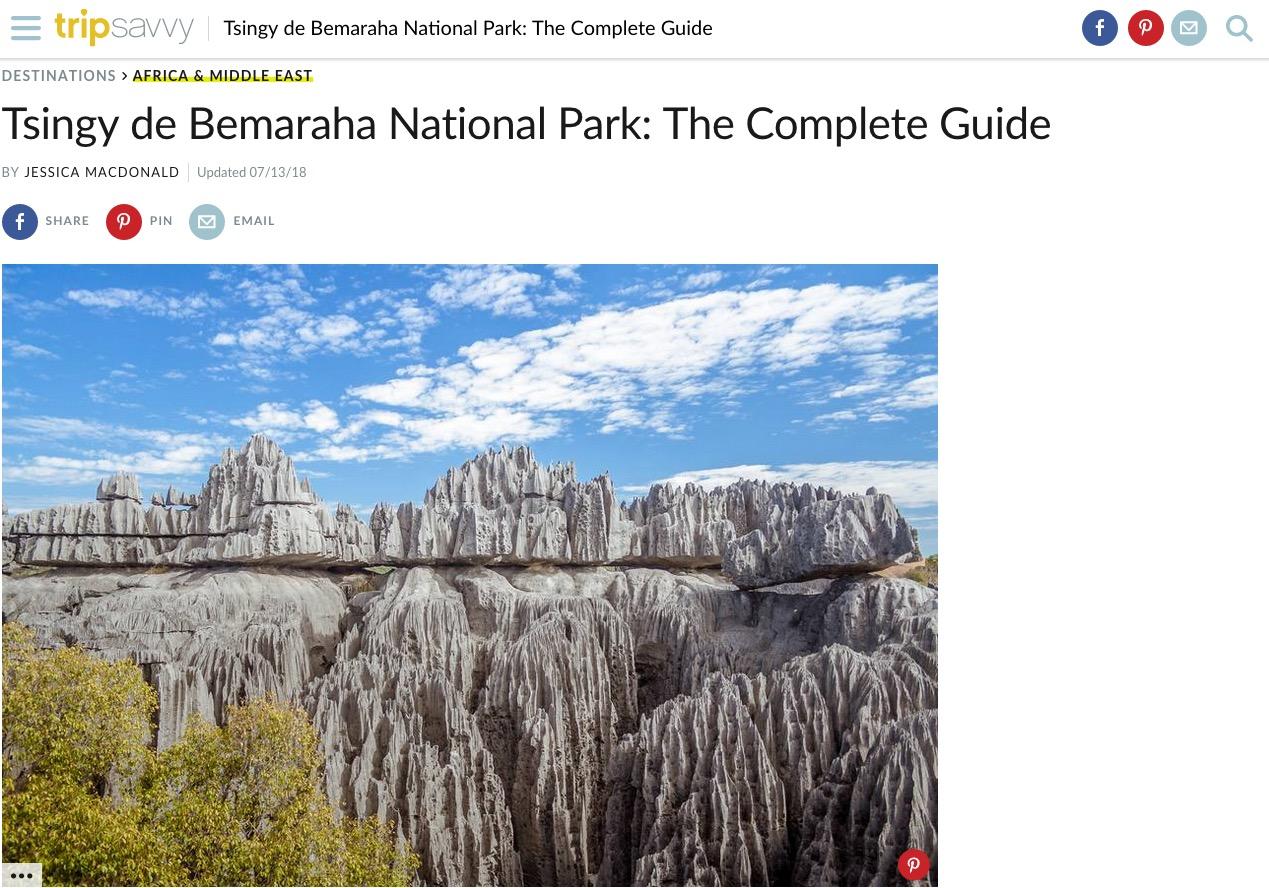 Trip Saavy article Tsingy de Bemaraha, photo Pierre-Yves Babelon
