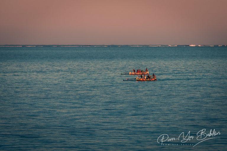 Pêcheurs du lagoon