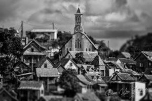 La vieille ville de Fianarantsoa sur les hauts plateaux de Madagascar