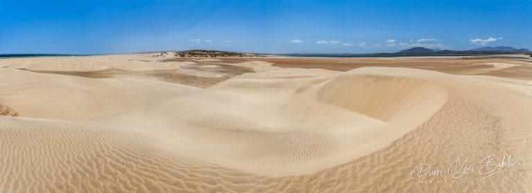 Dunes de sable près du lac d'Anony