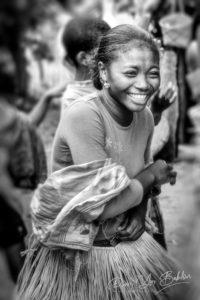Femme malgache dans un village Betsimisaraka à l'est de Madagascar