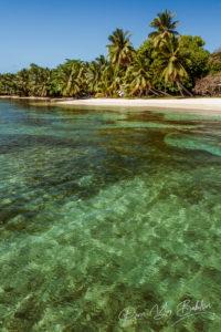 Paysage tropical de l'île Sainte-Marie (Nosy Boraha), Est de Madagascar