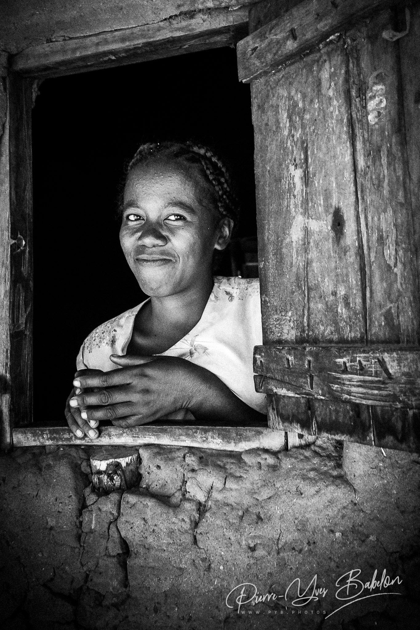 Femme malgache Sakalava de Madagascar