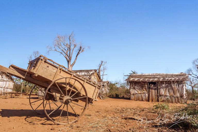 Malagasy tribal village