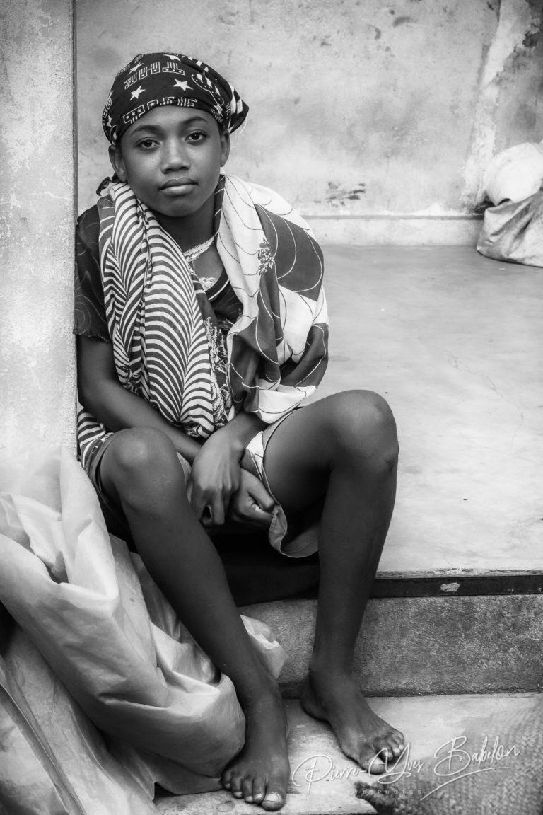 Jeune femme malgache Sakalava