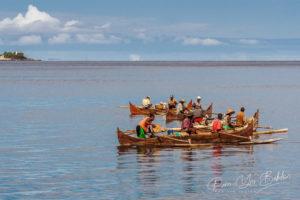 Scène de pêche, Nosy Komba, Madagascar