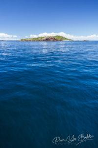 L'île de Tsarabanjina dans l'archipel de Mitsio près de Nosy Be, Madagascar