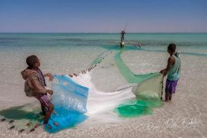 Pêcheurs Vezo à Salary, Madagascar