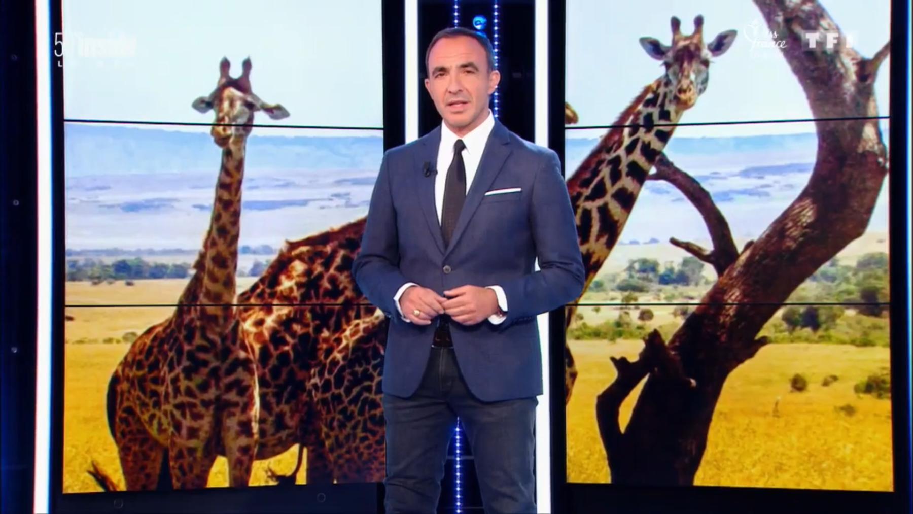 50 mn inside du 15 décembre 2018, photo de une sur un reportage consacré aux safaris au Kenya