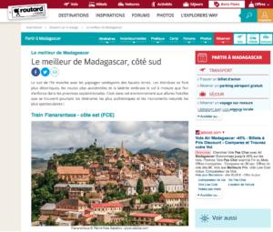 Guide du Routard Madagascar photo Pierre-Yves Babelon