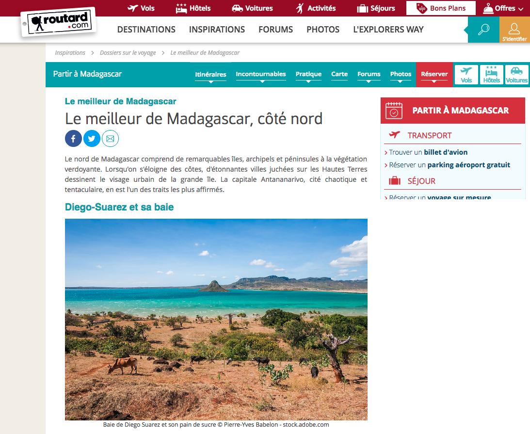 Guide du Routard Madagascar
