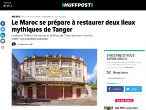 Huffington Post article Gran Teatro Cervantes, photo Pierre-Yves Babelon
