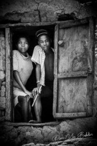 Couple malgache Bara du massif de l'Andringitra, Madagascar