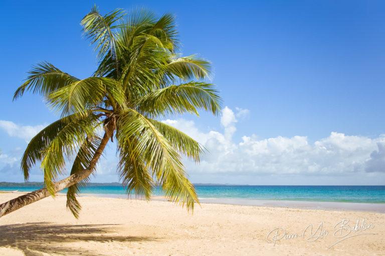 La plage Nord de l'île Sainte-Marie, Madagascar