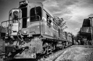 Le train Fianarantsoa - Côte Est, Madagascar