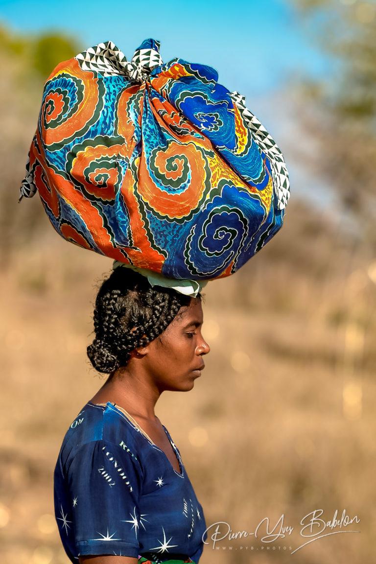 Une femme malgache Sakalava