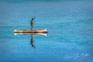 Pêcheur Vezo à Salary, ouest de Madagascar