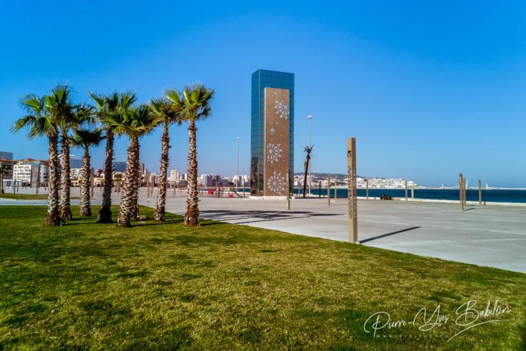 Front de mer de Tanger, Maroc